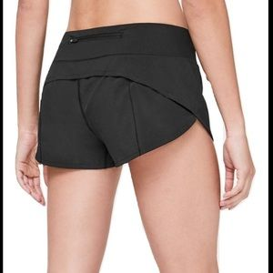 NWT Lululemon Speed Up Short